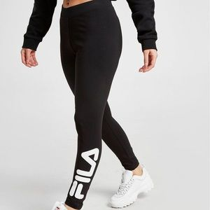 Black Fila Leggings